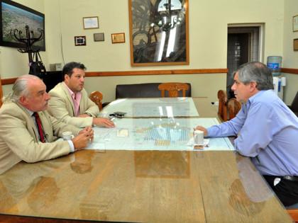 Britos se reunió con autoridades de la Universidad Nacional de Luján