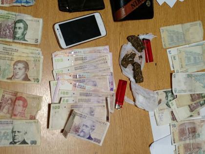 La Policía Comunal realiza un procedimiento anti-drogas