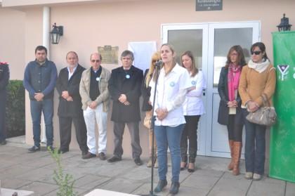 Se inauguró la Sala de Neurodesarrollo del Hospital de Moquehuá