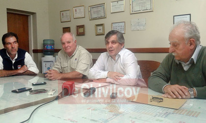 El Intendente se reunió con el Director del INTA