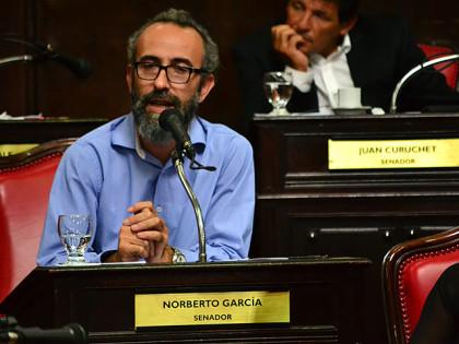 Senador Norberto García:  Homenaje a veteranos y caídos en la Guerra de Malvinas