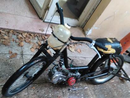 Personal policial de Subestación Garelli recupera una motocicleta sustraída