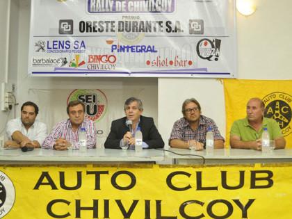 Se presentaron las fechas del Rally Federal y Rally Chivilcoy