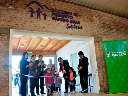 """Fue inaugurado el Playón de la Sociedad de Fomento """"Barrio Adas Solidaria"""""""