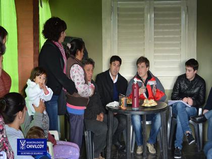 Reunión con los vecinos del Barrio Verde