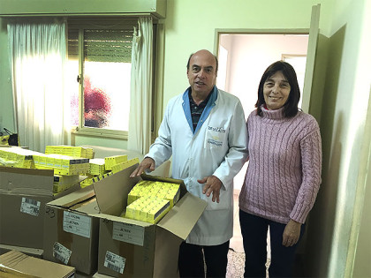 Medicamentos para el Hospital Municipal