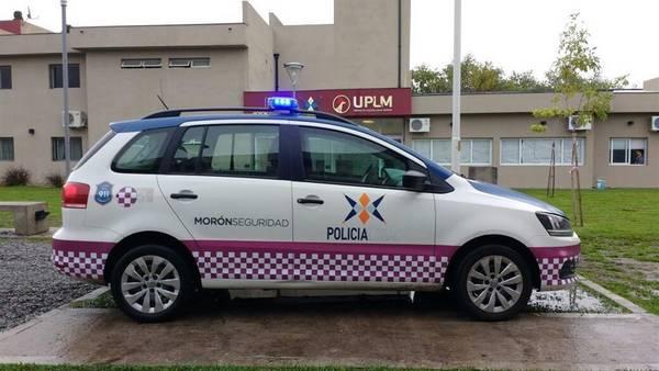 El primer patrullero violeta contra la violencia de género