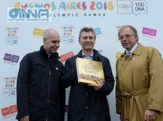 Macri inauguró las obras para los JJ. OO. de la Juventud