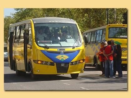 La empresa de colectivos locales informa a los pasajeros