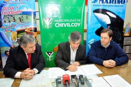 Se firmó un convenio con Mundo Marino y Termas Marinas