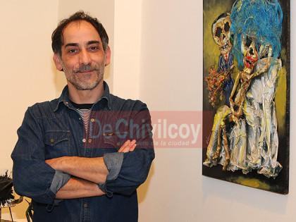 Marcelo Mosqueira expone en la Sociedad Francesa