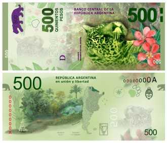 En julio comenzarán a circular los nuevos billetes de $500