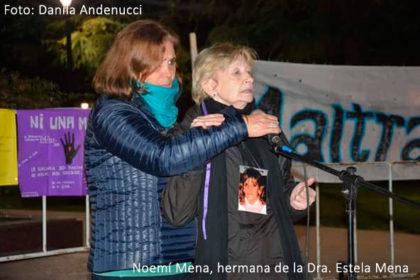 #NiUnaMenos: Marcha y encendidos discursos