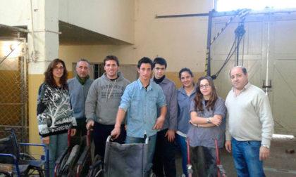 Se repararán 18 sillas de ruedas del Hogar San José
