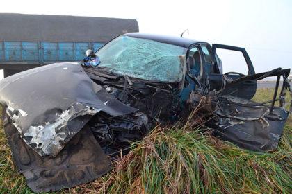 Parte policial sobre el accidente de ayer en la Ruta 51