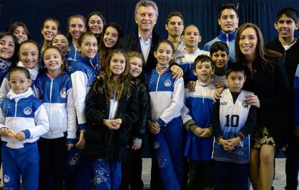 """Mauricio Macri y María Eugenia Vidal anunciaron la """"Tarifa Social Para Clubes"""""""