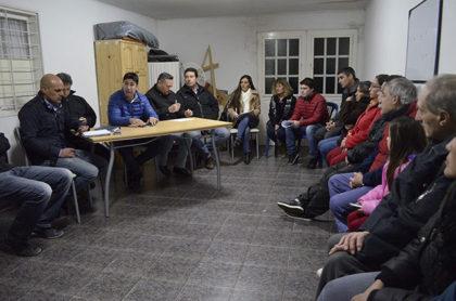 Barrio San Donato: Reunión vecinal en cabezada por Secretaría de Seguridad
