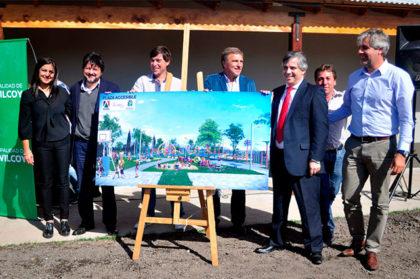 El gremio Aleara donó dinero para la construcción de una plaza en el SUM del Barrio Adas