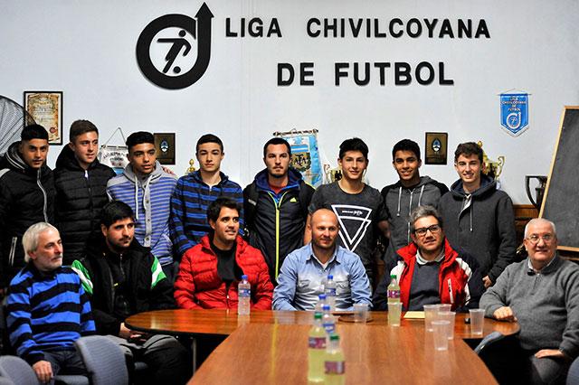 Presentaron-la-Selección-Sub-15-de-fútbol-1