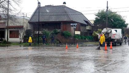 Secretaria de Obras y Servicios Públicos: Tareas de mantenimiento para evitar inundaciones