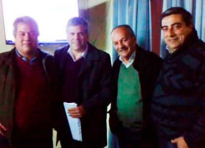El diputado Fabio Britos se reunió en Bragado con cooperativistas de un frigorífico