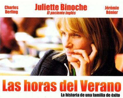 """Ciclo de cine en la Sociedad Francesa: """"Las horas del verano"""""""