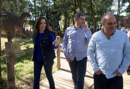 María Eugenia Vidal visitó Tecnópolis junto al jefe de Gabinete Nacional, Marcos Peña