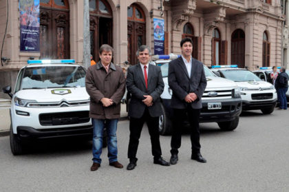 Nuevos móviles para la Guardia Urbana y Defensa Civil