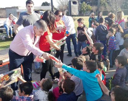 Se hizo la Fiesta para los Niños en Gorostiaga