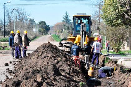La Secretaría de Comunicaciones de la Gobernación recorrió obras en la ciudad