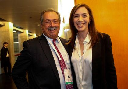 María Eugenia Vidal se reunió con los CEOS de cuatro empresas internacionales