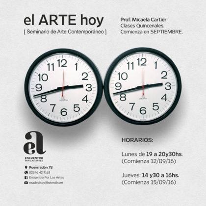 El ARTE HOY, Seminario de Arte contemporáneo