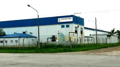Concentric: Se confirmó el despido de casi 40 trabajadores en la planta de Chivilcoy
