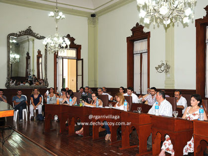 Concejo Deliberante: Orden del Día 13-10-16