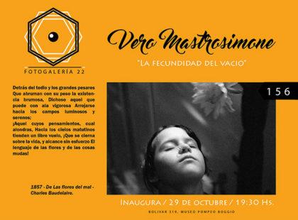 Verónica Mastrosimone expone en Fotogalería 22