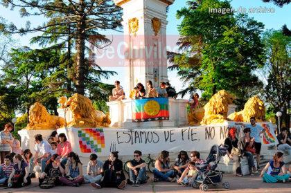 """Plaza Colón: """"Los Pehuenes"""", el Otro Monumento"""