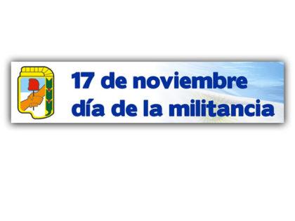 Publicación Pedida: Día del Militante Peronista