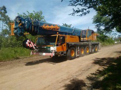 Alberti: Llegaron las vigas para el nuevo puente de la Cañada de Tío Antonio