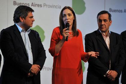 María Eugenia Vidal presentó el Plan de Mejoras para el Servicio Alimentario Escolar