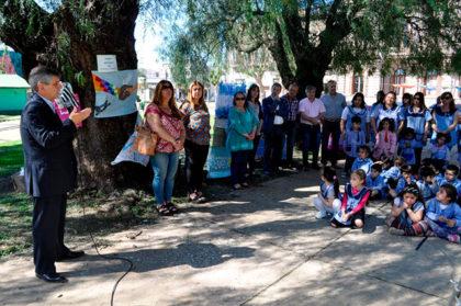 """Se realizó la """"Exposición del Bicentenario"""" de los Jardines"""