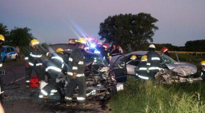 Amplían información con respecto al estado de las personas accidentadas en la Ruta 30