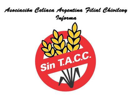 Asociación Celíaca Argentina Filial Chivilcoy, informa