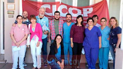 Hospital: Alta adhesión de los profesionales al paro y asamblea