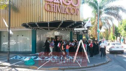 Bingo Chivilcoy: Asamblea Permanente, movilización y entrega de petitorio a Britos