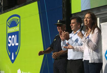 """María Eugenia Vidal presentó el """"Operativo Sol 2017"""" en Mar del Plata: """"Estamos para cuidarlos"""""""