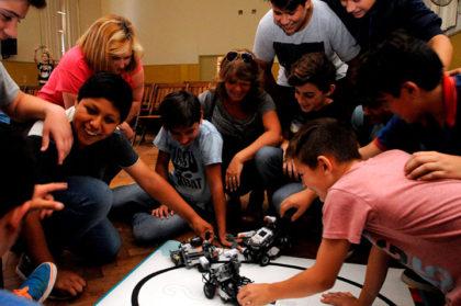 Presentación de la Escuela Municipal de Robótica