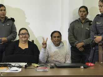 """Condena a Milagro Sala: tres años de prisión en suspenso por el """"escrache"""" a Morales"""