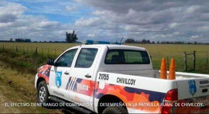 [AMPLIAMOS] Comisario de la Patrulla Rural de Chivilcoy fue detenido tras resistirse en un operativo de tránsito