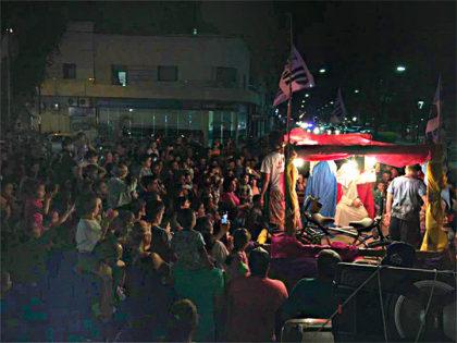 La Juventud Peronista y los Reyes Magos recorrieron los barrios de la ciudad