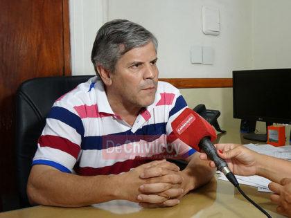 """Britos: """"Quisiéramos tener con García De Luca la misma relación que tenemos con la gobernadora"""""""